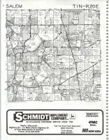 Map Image 002, Kenosha and Racine Counties 1986